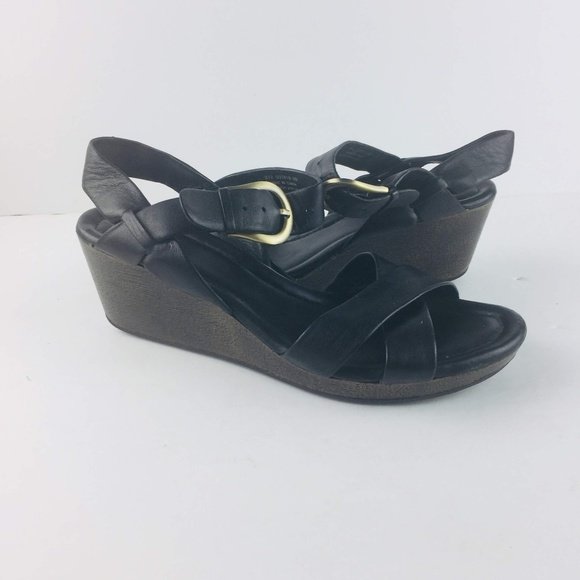 Haan Wedge Black Air Womens 8b Nike Sandals Cole CrdQhts